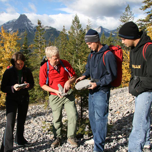 Cave Geology and the history of the Bow Valley
