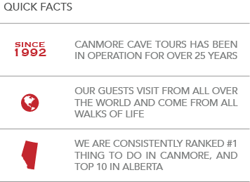 About Canmore Cave Tours