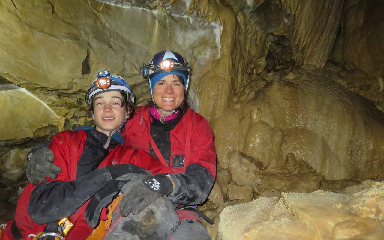 Charlotte and Alex Have Found a New Passion in Caving