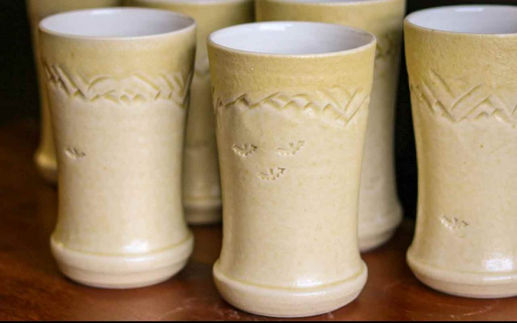 Artisan Pottery Mugs A Canmore Collaboration